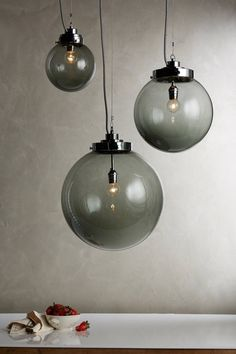 Brume pendant lights by Original BTC from Anthropologie