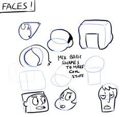 Steven Universe-faces