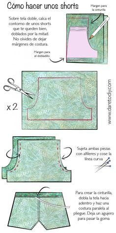 DIY How to Cómo hacer unos shorts tutorial-01