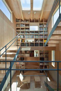 MOVEDESIGN designed the 'House in Nanakuma' in Fukuoka, Japan. http://en.51arch.com/2013/08/a1002-house-in-nanakuma/