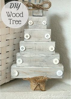 Simply Beautiful By Angela: DIY Wood Christmas Tree