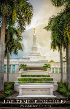 Kona Hawaii Temple from LDS Temple Pictures