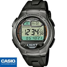57626c90e4ba Casio 60 Lap Memory World Time Pace 5 Alarms Watch 10 Year Battery