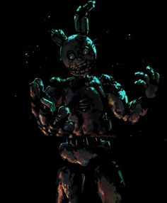 Springtrap Fan Art: OMG This looks so real!