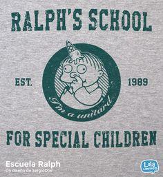 Ralph's School | Design by SergioDoe