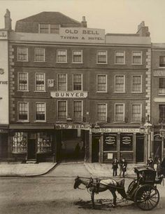 the Old Bell, Holborn, 1884. This photograph was commissioned by the Society for Photographing Relics of Old London to form part of a permane...