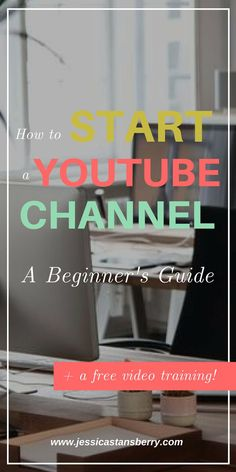 How to get Started on YouTube, how to start your own channel, and how to do it EASILY! This guide on how to start a youtube channel will help you grow your business! #youtube #youtubechannel #digitalmarketing #onlinemarketing #marketing #videotips #videomarketing