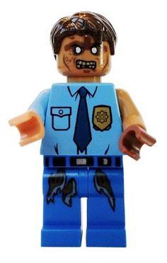 Lego Zombie Police - LEGO Halloween Minifigure by LEGO, www.amazon.com/...