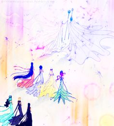 One of my fav. manga moments. Very pretty colored!