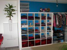 Expedit walk in closet