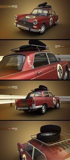 Peugeot 404 by Richard Clark