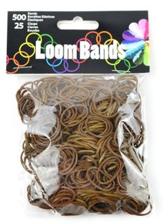 Touch of Nature 50625 Loom Bands, Coffee (bestseller)