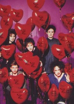 The Cure. Especially in their temporary 'happy' Friday I'm in Love era.