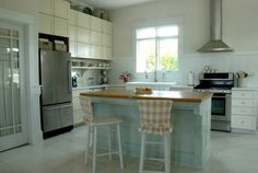 kitchens with beadboard backsplash | ... Kitchen Cabinets Colors, painting kitchen cabinets, painted kitchen