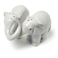 Abbott Collection Hugging Elephant Salt and Pepper, 3.5""
