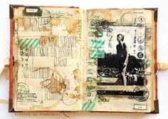 Pathfinder - travelling family album - letter by finnabair, via Flickr
