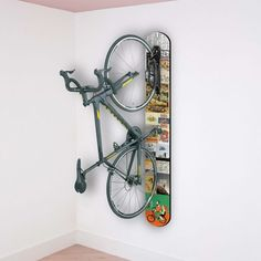 Bike Storage, Diy Hacks, Bicycle, Wood, Projects, Treehouse, Ideas Para, Cycling, Hobbies