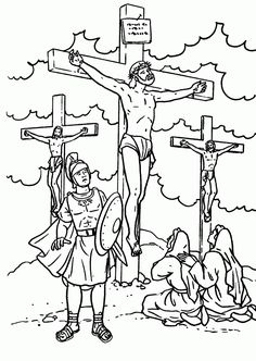 14 Best Stations of the Cross Coloring Pages images | Coloring pages ...