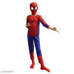 Clothing Sets ITSMYCOSTUME Spiderman Superhero Halloween Kids Adults Fancy Dress Costume - (Material: Nylon Lycra)  Top Fabric: Nylon Lycra Bottom Fabric: Nylon Lycra Sleeve Length: Three-Quarter Sleeves Top Pattern: Printed Bottom Pattern: Printed Multipack: Single Sizes:  IMC317 2-3 Years IMC317 3-4 Years IMC317 4-5 Years IMC317 5-6 Years IMC317 6-7 Years IMC317 7-8 Years Country of Origin: India Sizes Available: 2-3 Years, 3-4 Years, 4-5 Years, 5-6 Years, 6-7 Years, 7-8 Years   Catalog Rating: ★4 (425)  Catalog Name: Pretty Funky Boys Top & Bottom Sets CatalogID_2481548 C59-SC1182 Code: 703-12792443-327