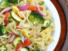 Super Simple Summer Vegetable Pasta