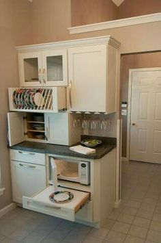 very tiny kitchen