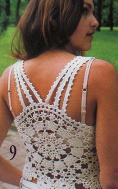 FREE....Crochetpedia: crochet tank top sleevless patterns. Several to choose from!