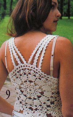Free Crochet Pattern Tank Top