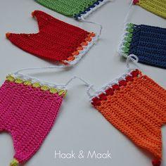 Crochet Bikini, Crochet Top, Bunting, Garland, Sewing, Blog, Accessories, School, Women