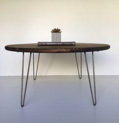 36 industrial nogal moderna mesa de centro con por GroveAndAnchor