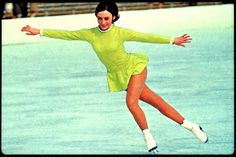 Peggy Gail Fleming (born July 27, 1948 in San Jose, CA) is an American figure skater. She is the 1968 Olympic Champion in Ladies' singles and a three-time World Champion (1966–1968). Fleming has been a television commentator on figure skating for more than 20 years.  http://m.youtube.com/watch?v=Pw9XZAA72lw