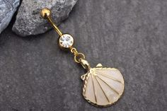 Seashell Belly Ring