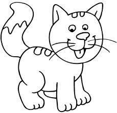 Cat coloring page Farm Animal Coloring Pages, Cat Coloring Page, Bead Embroidery Patterns, Cross Stitch Embroidery, Mickey Mouse Imagenes, Oswald The Lucky Rabbit, Quilting Templates, Coloring Sheets, Colorful Pictures