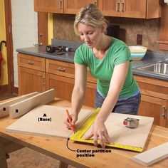 Kitchen Cabinet Storage Solutions: DIY Pull Out Shelves Kitchen Sink Storage, Cheap Kitchen Cabinets, Under Sink Storage, Hidden Storage, Storage Cabinets, Kitchen Furniture, Extra Storage, Kitchen Sinks, Cabinet Drawers