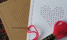 Hearts - to stitch or not to stitch