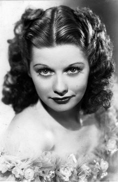 Lucille Ball in the 1930's