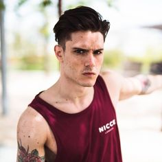 New Sprint/Summer vests available online. model @diegobarrueco shot by @curtisjehsta #nicce #niccelondon #nicceclothing