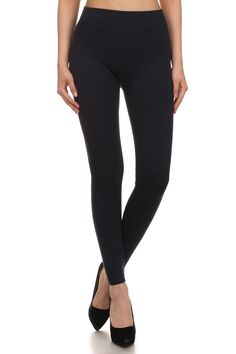 Great solid black basic leggings for your everyday needs. Fast FREE Shipping! Limited Quantities! Shop Now: https://www.shoppinwithsailin.com/collections/leggings/products/solid-black-leggings?variant=26306222153