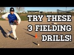 3 GREAT Baseball Fielding Drills for Youth Players! - YouTube