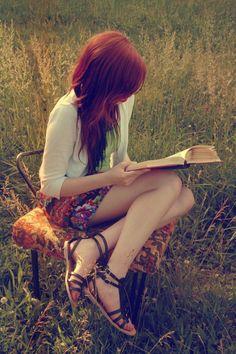 Mirna via Mirna onto Ginger Red Reading ♔ Style 2