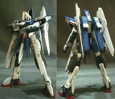 ライトニングデルタ Gunpla Custom, Custom Gundam, Plastic Models, Resin, Corner, Creative