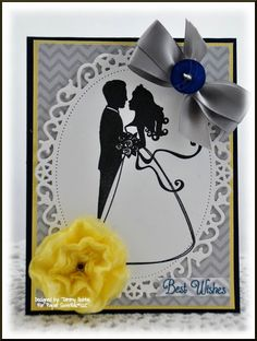 Wedding Card designed by Tammy Hobbs @ Creating Somewhere Under The Sun: Paper Sweeties
