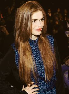 Holland Roden- hair color