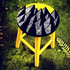 Banqueta Spike www.juamora.com ateliejuamora@gmail.com #juamora #spike #stool #banqueta #design #decor #art #patter