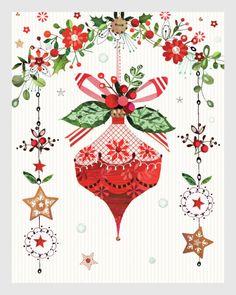 Christmas Bauble ~ Lynn Horrabin