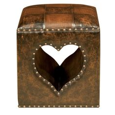 Borough Wharf Oria Heart Ottoman