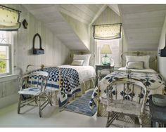 Nantucket Cottage Decorating | love all the charming antique pieces throughout the home... it adds ...