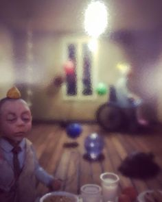 The Party brilliant by Kleio Gizeli . Diorama, Party, Instagram, Dioramas, Parties
