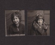 Photo Booth Flapper Stylish Woman Bobbed Hair by EphemeraObscura, $5.50