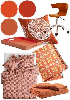 burnt orange... great things i would like for my new room #kendrascott #teamKS