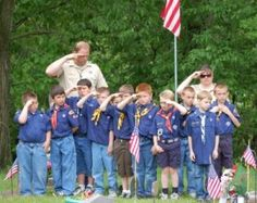 Tiger Scouts and Cub Scouts